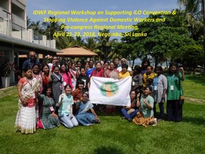 Asia: IDWF Pre-congress Regional Meeting