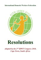 Resolutions: Adopted by the 2nd IDWF Congress 2018,  Cape Town, South Africa