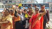 Bangladesh: NDWWU rally on the Human Rights Day