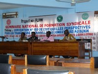 Benin: Domestic workers learn about roles of leaders, union structure and administration work