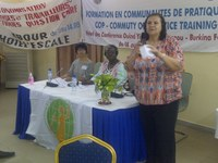 Burkina Faso: IDWF community network workshop
