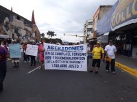 Costa Rica: ASTRADOMES march on the May Day