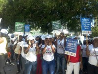 Dominican Republic: Domestic workers demanding their rights as workers on the Human Rights Day