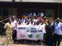 Ghana: DSWU celebration of June 16 and signing the My Fair Home pledge