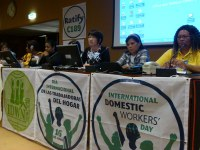Global: IUF/IDWN/ITUC Meeting on the First Anniversary of the C189