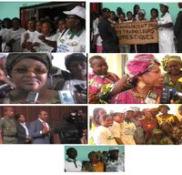 Guinea: Domestic workers sang and danced for C189 Ratification at the International Women's Day