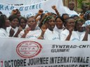 Guinea: SYNTRAD celebrated Oct 7, the World Day of Decent Work