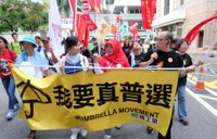 Hong Kong: Domestic workers joining the July 1 Democracy Rally
