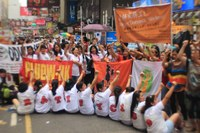 Hong Kong: FADWU domestic workers celebrate the anniversary of C189