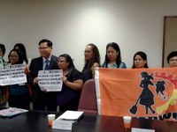 Hong Kong: FADWU meeting with Labor Department about wages increase