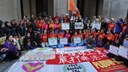 Hong Kong: FADWU sisters rally on the International Migrants Day 2016