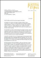 IDWF Congress: Solidarity message by the German Commission for Justice and Peace Bishop Dr. Stephan Ackermann
