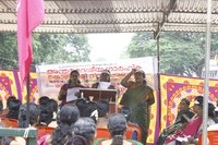 "India: ""Safe Workplace is Our Rights"" - SEWA Kerala celebration for the International Domestic Workers' Day"