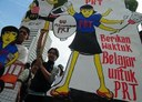 Indonesia: Jala PRT submitted 5000 signatures on the Domestic Workers Day