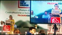 Italy: General assembly of Filcams Cgil in Rome