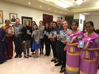 "Lebanon: IDWF launching the ""My Fair Home"" Campaign at the residence of Sri Lankan ambassador in Beirut"