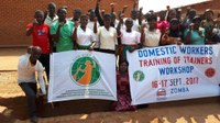 Malawi: Domestic workers Training of Trainers