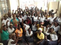 Mozambique: Domestic workers celebrating New Year