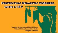 Beijing+20 side event: Protecting Domestic Workers with ILO Convention No. 189 – Enhancing Women's Economic Empowerment and Decent Work