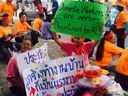 Thailand: Domestic Workers are workers! Decent Work for ALL!