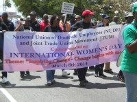 Trinidad & Tobago: NUDE commemorating the International Women's Day