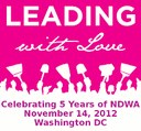 "USA: NDWA Celebrating 5 Years on November 14 ""LEADING WITH LOVE"""