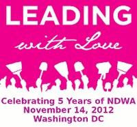 "USA: NDWA Celebrating 5 Years on November 14 ""LEADING WITH LOVE"""