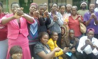 Zimbabwe: Domestic workers participating a workshop about C189