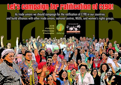 16. Let's campaign for ratification of C190!