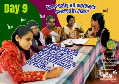 9. Are really all workers covered by C190?