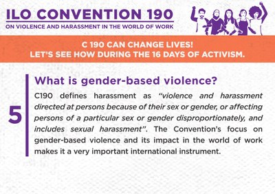 5. What is gender-based violence?