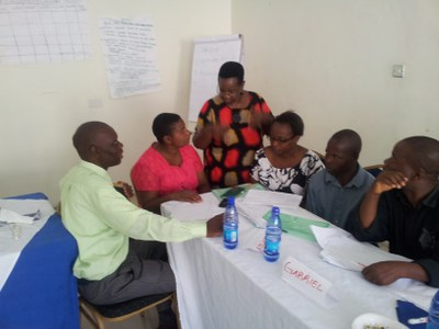 Planning workshop in Malawi, Ciawu, January 2015
