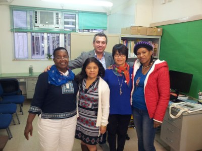 Visit to IDWF office in Hong Kong