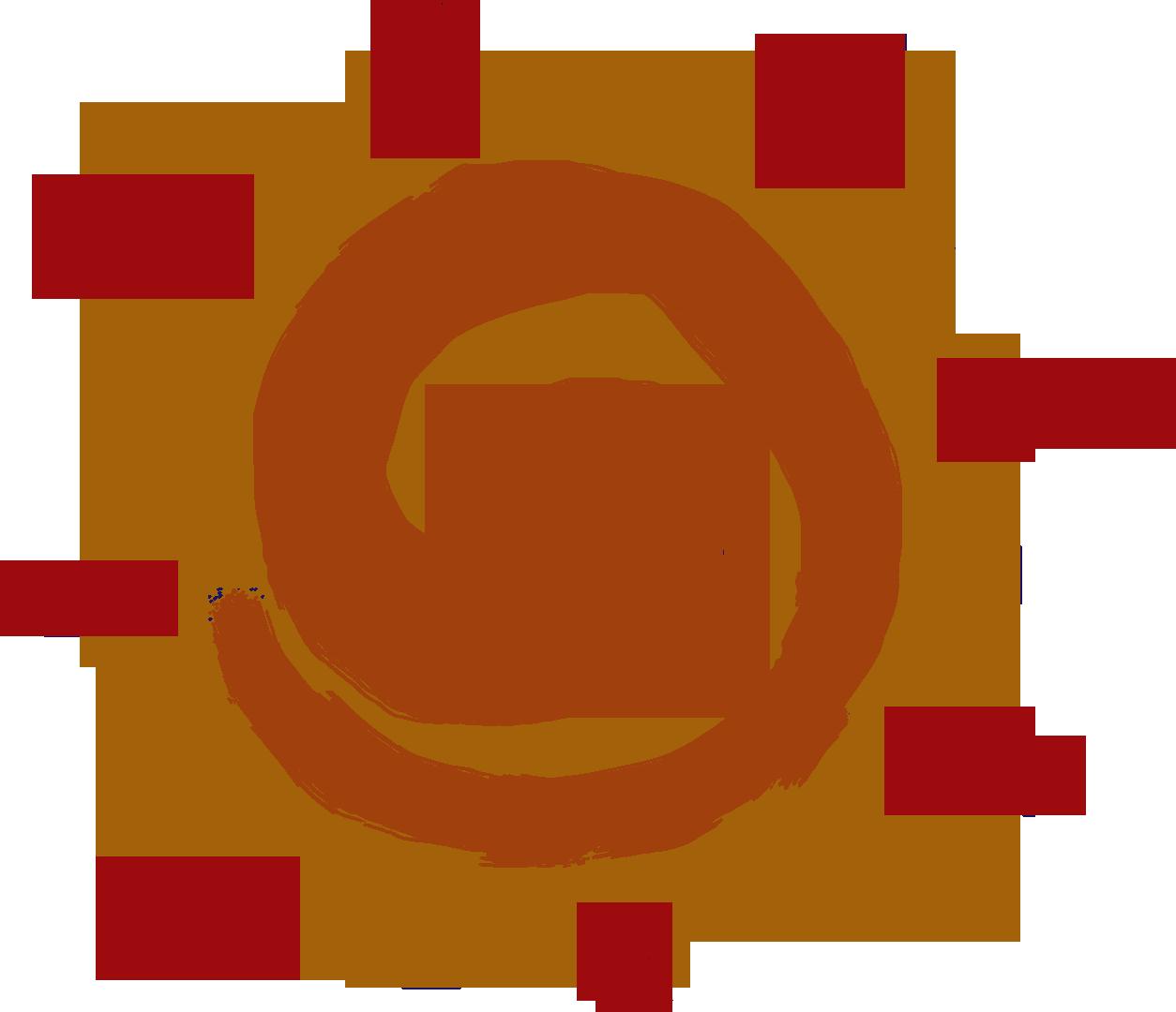 africa icon sun