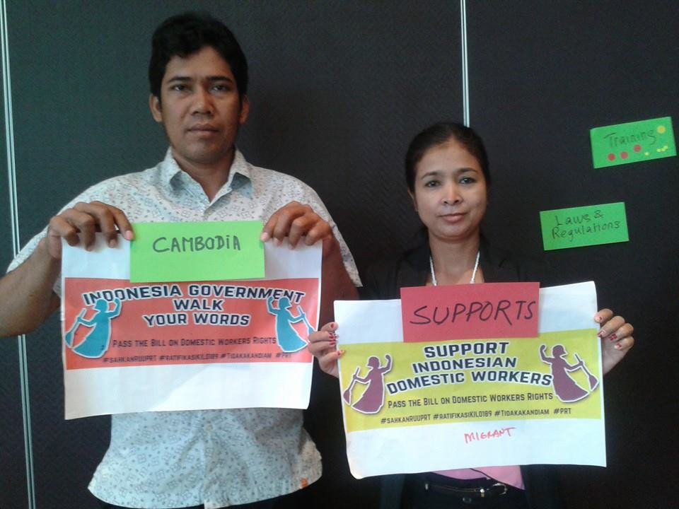 Prisident  Cambodian Domestic  Worker  Network