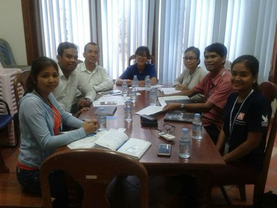 Meeting with Iom and IJM on 22 April 2016