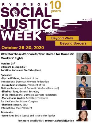 10.29 Social Justice Week-CARE