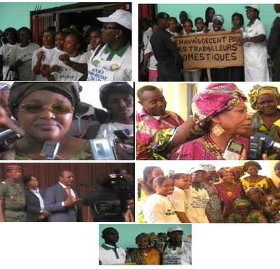 2012.3.8 Guinea celebrated IWD
