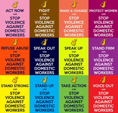2014.11.23-30 STOP VIOLENCE posters