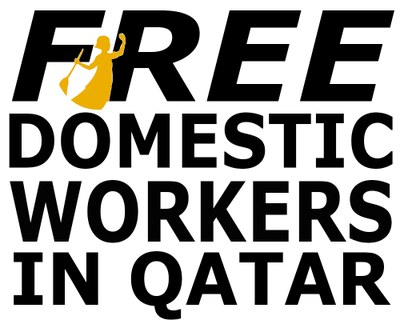 2014.7.1 Free domestic workers in Qatar