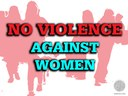 no violence against women