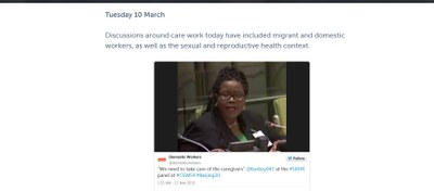 2015.3.11 care work at CSW59