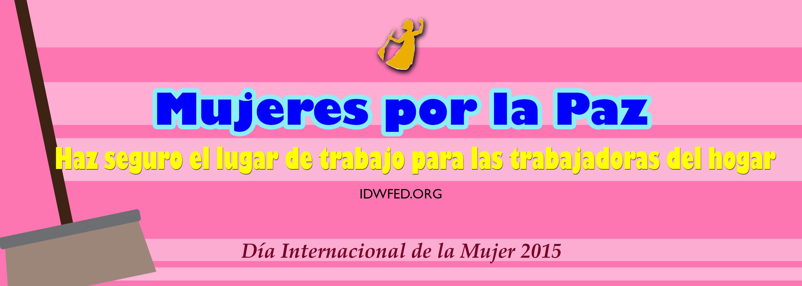 2015 IWD women for peace ESP