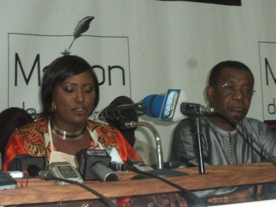 2014.8.13 Guinea: SYNEM press conference