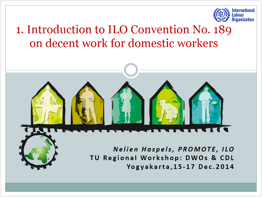 the ilo and the concept of decent work The aim of this article is to analyse the 11 substantive elements of the decent work concept  job opportunities is a fundamental element for decent work (ilo,.