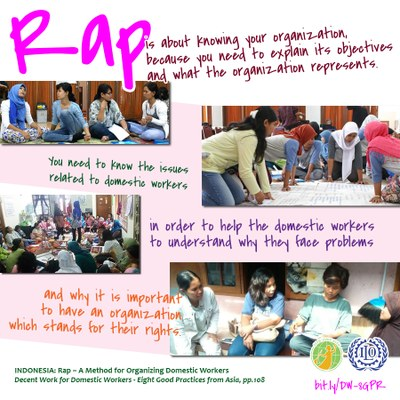 INDONESIA: Rap – A Method for Organizing Domestic Workers