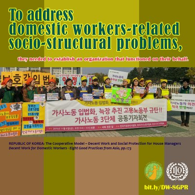 REPUBLIC OF KOREA: The Cooperative Model – Decent Work and Social Protection for House Managers