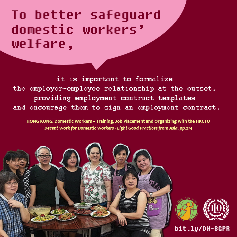 HONG KONG: Domestic Workers – Training, Job Placement and Organizing with the HKCTU