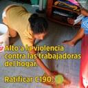 enews 24 - Alto a la violencia contra las trabajadoras domésticas. Ratificar C190.