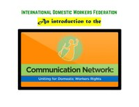 An introduction to the IDWF Communication Network